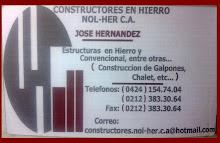 CONSTRUCTORES EN HIERRO NOL-HER C.A
