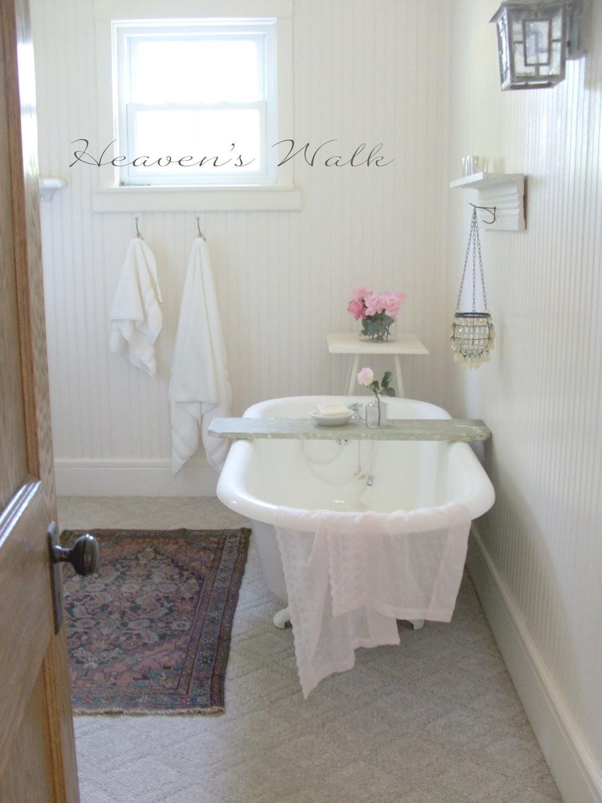 Heaven 39 s walk boho bliss bathroom for Bathroom heaven