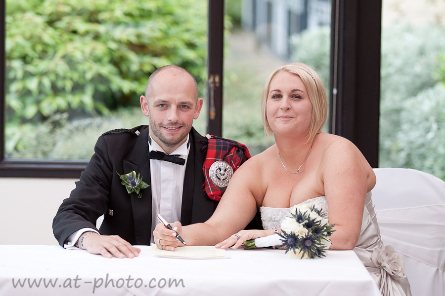 Photography By AT Photo Ltd Reception Queensferry Hotel