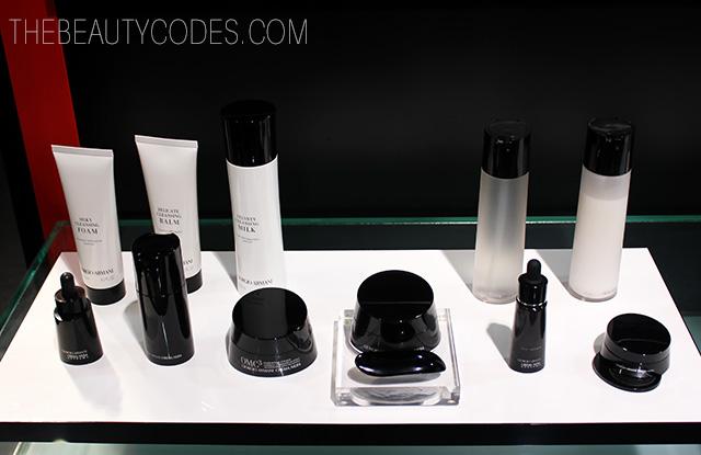 Giorgio Armani skincare cuidado facial Crema Nera
