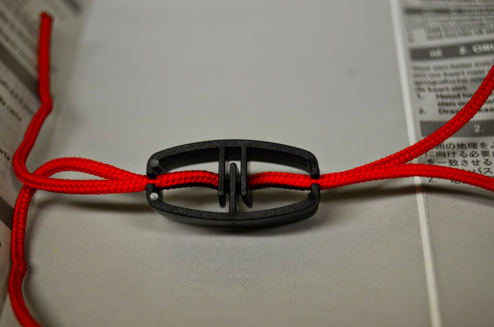 suunto compass lanyard instructions