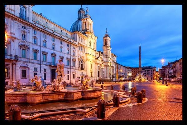 Noc na Piazza Navona