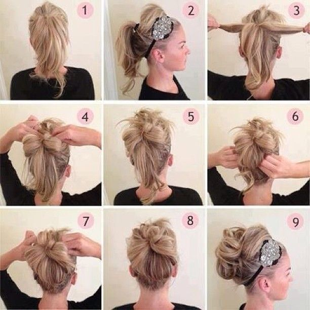 Up do hairstyle