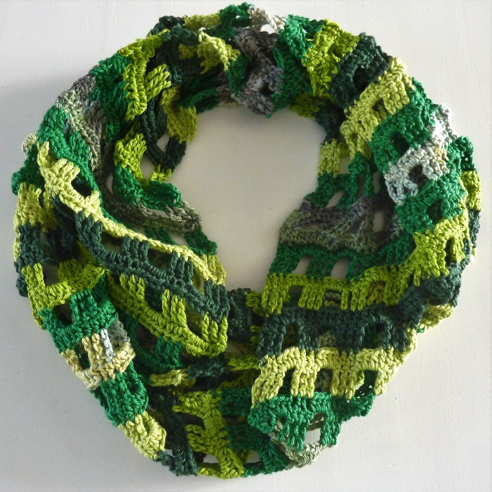 Eindeloze sjaal voor de zomer...