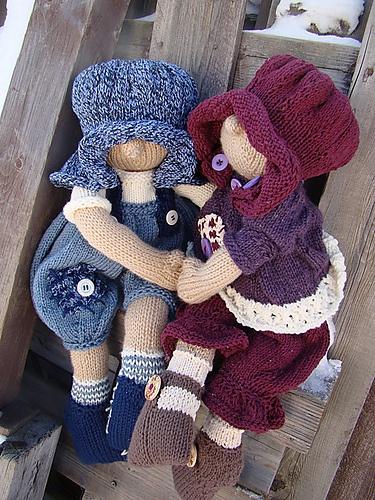 laleczki na drutach