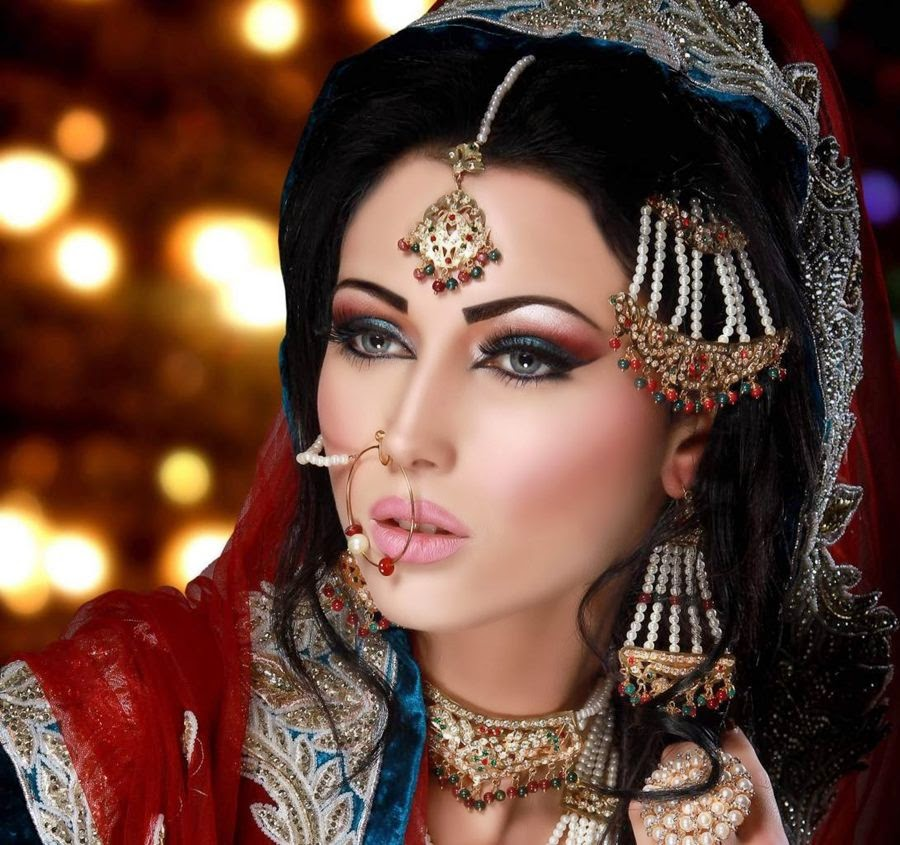 Pakistani Bridal Makeup Pictures 2015 - Latest Bridal Makeover 2015 16 | Salaam Pakistani