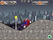 Người nhện lái moto, game dua xe