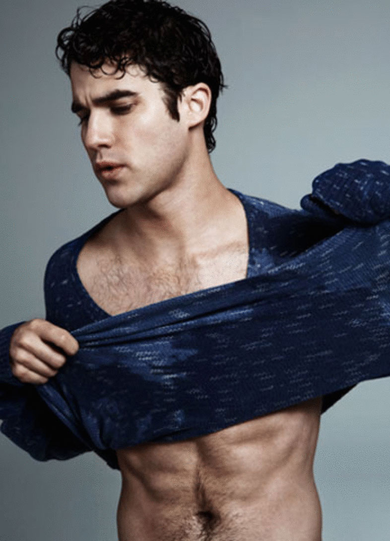 Shirtless Sexy Darren Criss