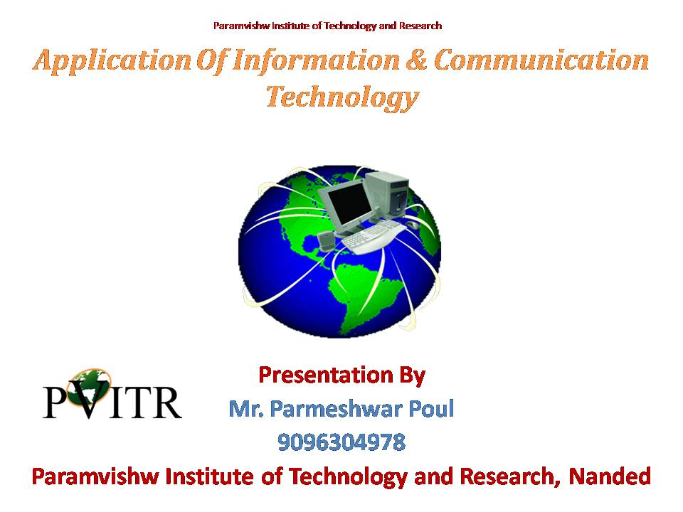 information and communication technology ict So, what is ict ict is nmsu's premier distance education information technology (it) program accredited by the higher learning commission of the north central association of colleges and.