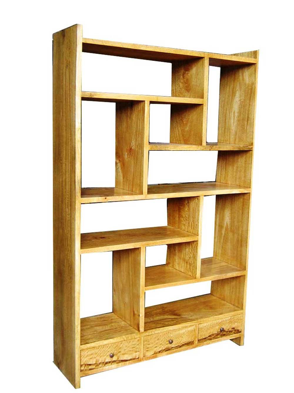 Desain Pembatas Ruangan Divider Room Rak Buku Cantik