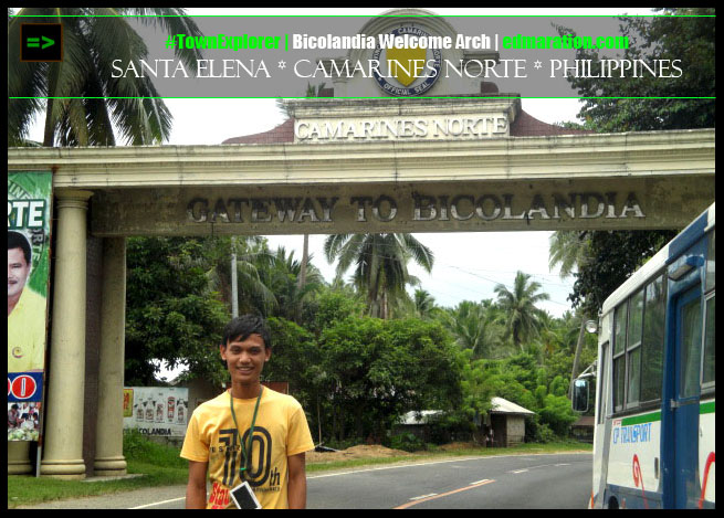 Camarines Sur Welcome Arch
