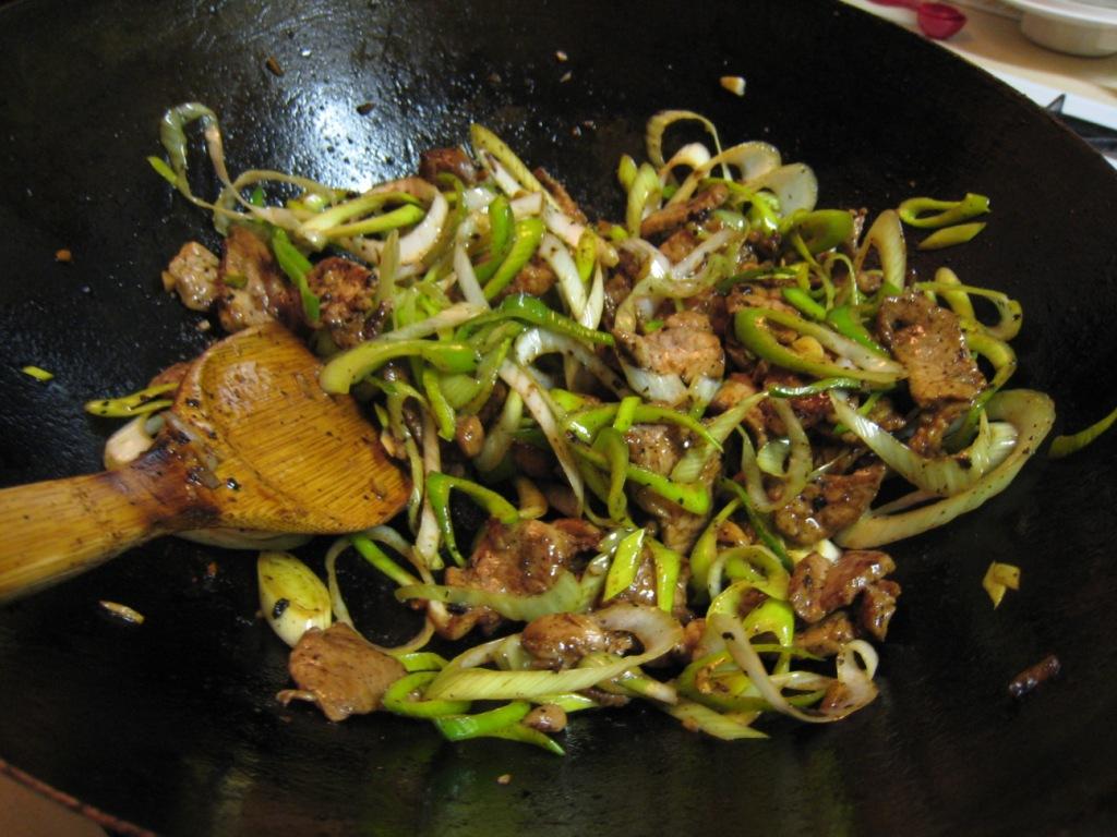 how to cook leeks stir fry