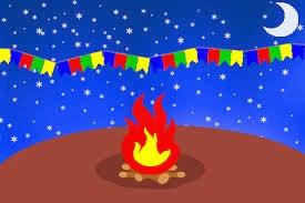 festas juninas com fogueira
