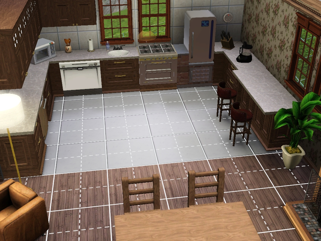 Om the sims 3: bygg inspiration