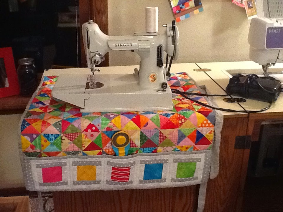 Tanya Quilts In CO FNSI October SSS Unique Quilted Sewing Machine Cover Pattern