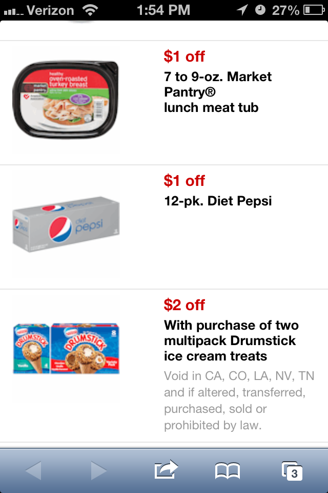 Target mobile coupon codes