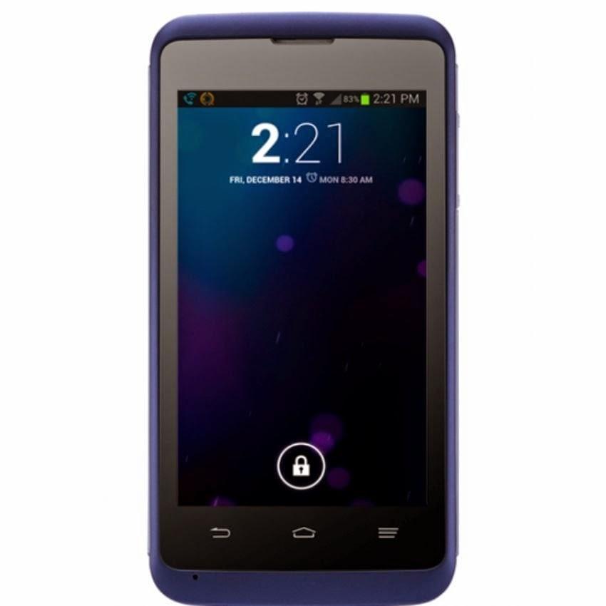 Harga Dan Spesifikasi ZTE Kis 3 Dark Blue 4GB, Menggunakan OS Android v4.4 KitKat