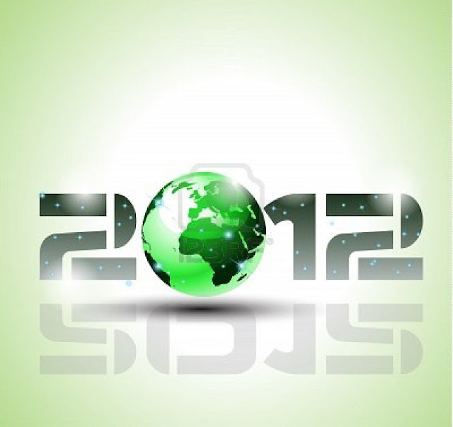 wallpaper new year 2012