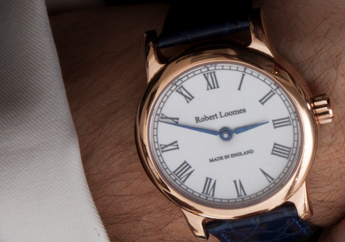 Robert loomes co entirely english watch for Robert loomes watch