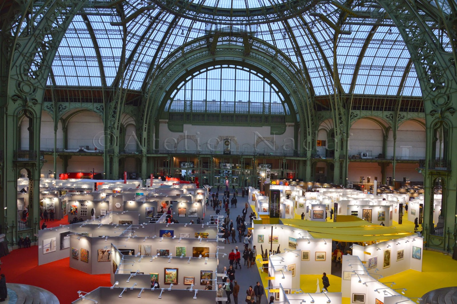 Atelier nadai mural paintings and trompe l 39 oeil salon for Salon grand palais