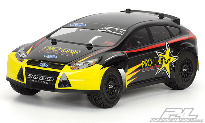 PROLINE 2012 Ford Focus ST Clear Body for Slash, Slash 4x4 and SC10