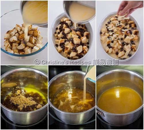 麵包布甸製作圖 Bread Pudding Procedures02