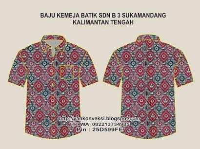 Baju Batik SD