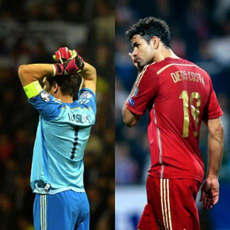 Sudah Saatnya Spanyol Depak Casillas dan Costa