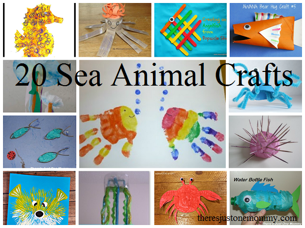 Mom to 2 Posh Lil Divas: Ocean, Sea and Beach Themed Crafts for Kids ...