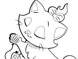 Full Size Coloring Pages Cats