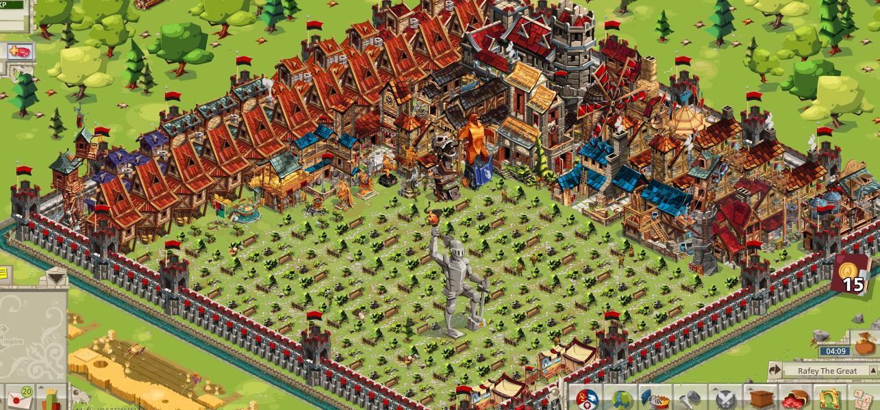 gg empire four kingdoms