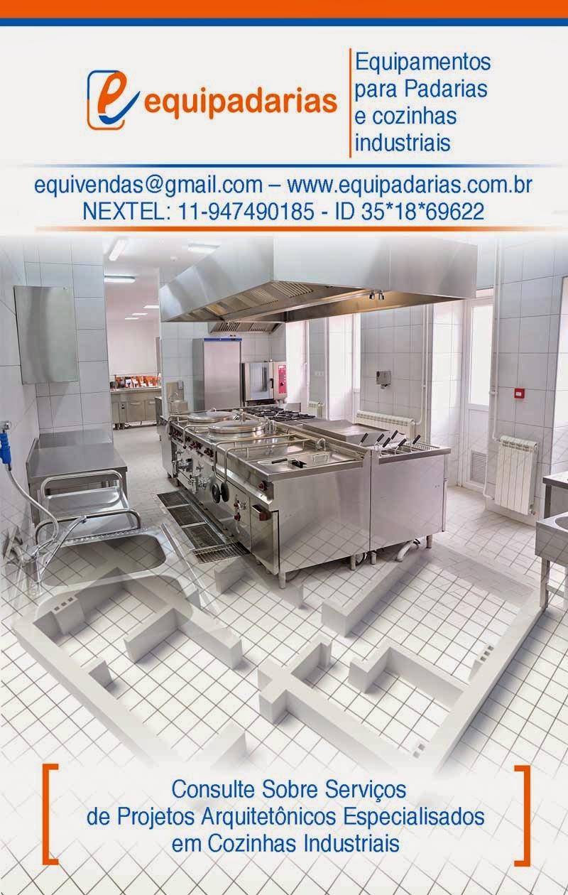 Cozinha Industrial A Partir Da Planta Equipamentos Padarias E