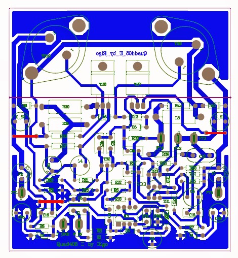 Quad+405+DIY+PCB Quad Ii Schematic on star trek, block diagram, electronic circuits, tube guitar amp, metal detector, guitar pedal, high voltage,