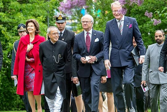 Indian President's State Visit To Sweden, Last Day