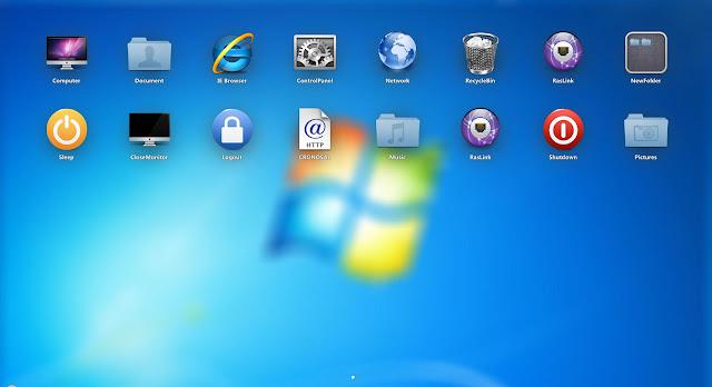 Xlaunchpad, Luncurkan Aplikasi Windows Layaknya Mac OS X
