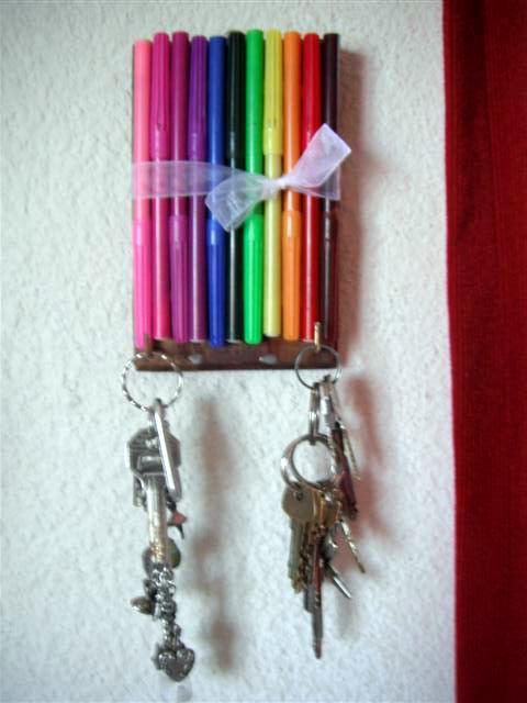 El detalle que hace la diferencia porta llaves - Porta llaves pared ...