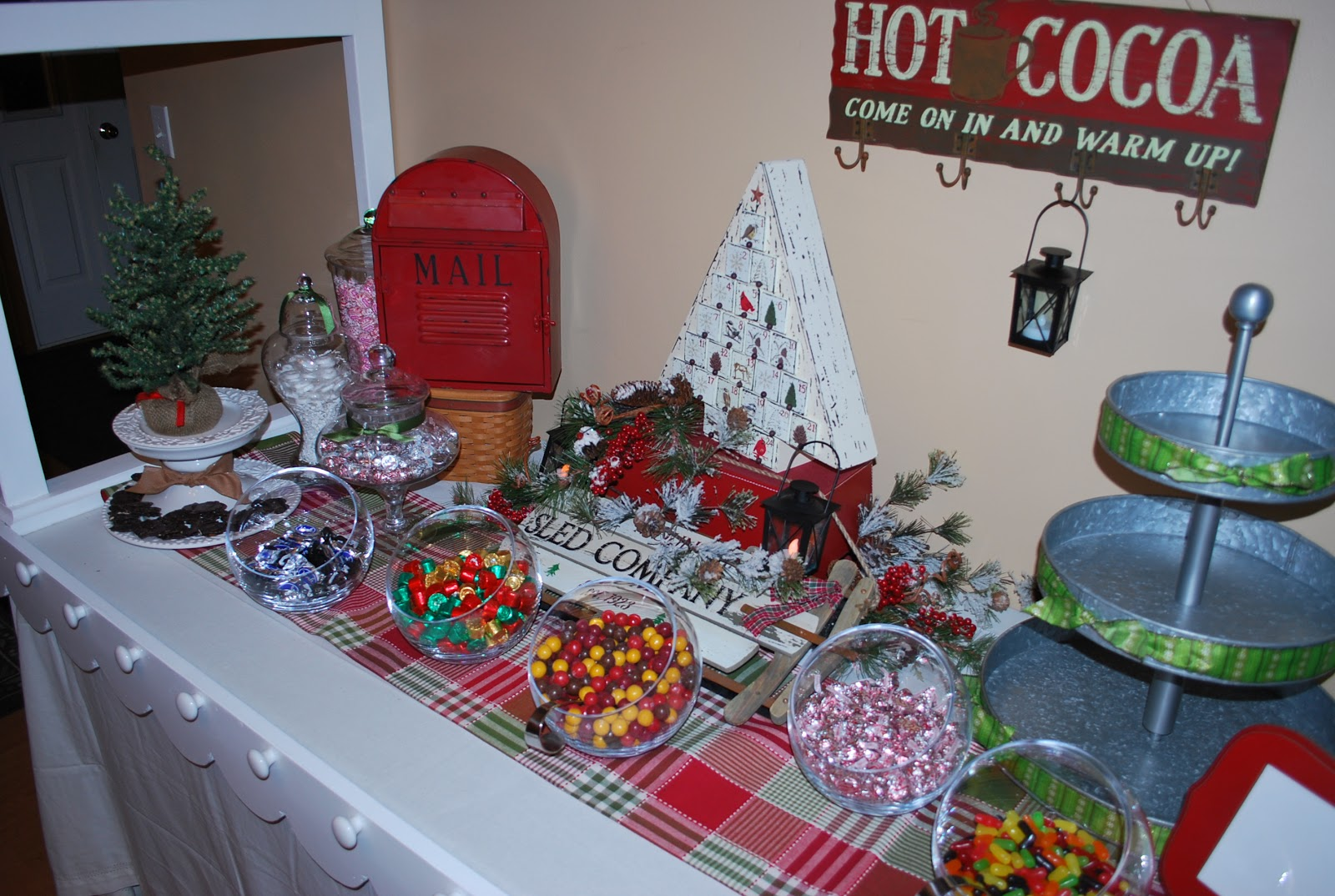 Small Business Christmas Party Ideas Part - 25: Tabletop Knobs Are Great To Add Small Filled Christmas Stockings, Filled  Mittens, Twinkling Lights, Or Fresh Christmas Boughs Or Garland.