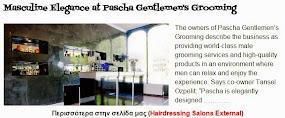 Masculine Elegance at Pascha Gentlemen's Grooming