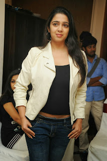 Actress Charmi Kaur Pictures in Jeans at One by Two Movie Celetes 20 Years Event 0149