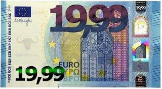 20 euro, shopping, centri commerciali, banconote, resti, satira