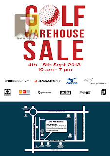 RSH Golf Warehouse Sale 2013