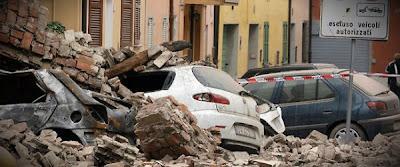 Destrosos deja terremoto de 6.0 grados en Italia, 20 de Mayo de 2012