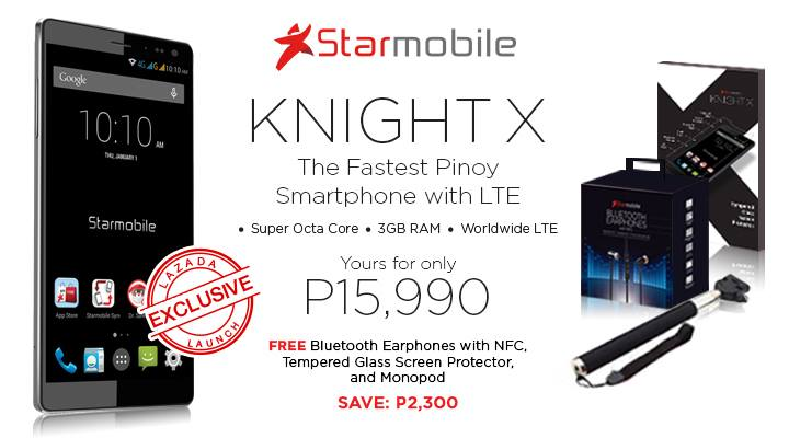 Starmobile Knight X