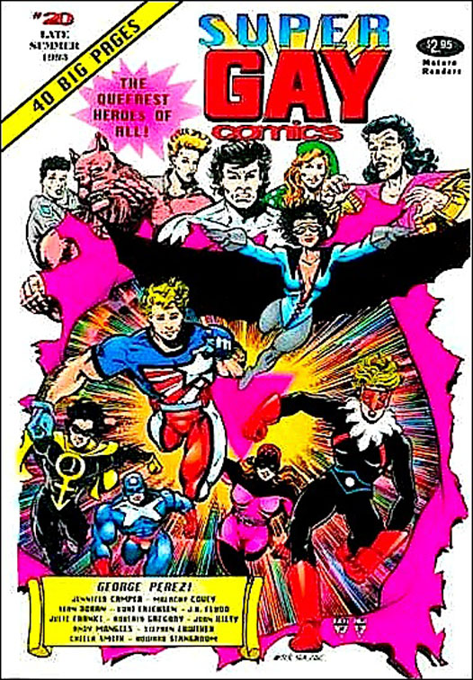 Gay+Comics+20+Cover What made me suspicious was the title, Gay Comics; the lexical item swish; ...