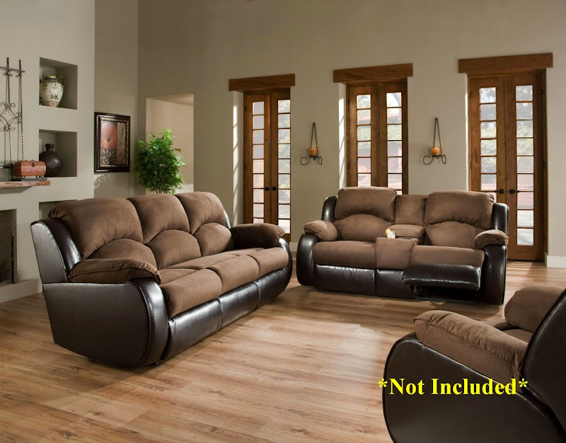 Sectional Sleeper Sofa with Recliners