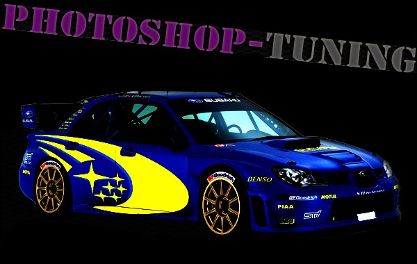 Photoshop tuning- Virtual tuning