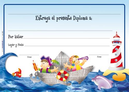 Jardines de infantes diplomas for Azul naranja jardin de infantes