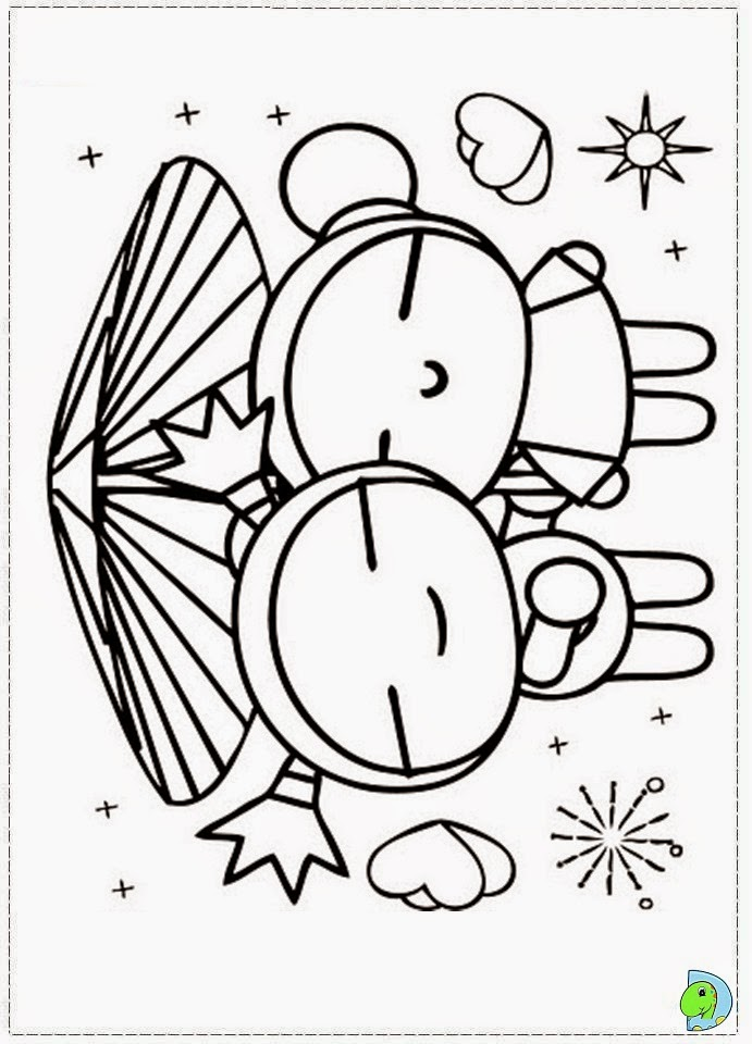 coloring pages of pucca - photo#14