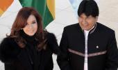 """Cristina destacó los acuerdos """"fructíferos"""" con Bolivia"""