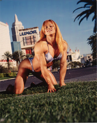 Female Bodybuilder - Cathy LeFrancois